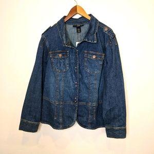 NWT Venezia denim jacket 22/24